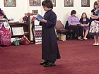 Another of the children<br> reads from the Old Testament.