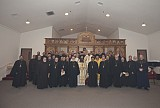 Clergy group photo.