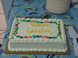 A cake says it all<br>Welcome Seraphim