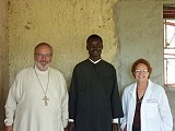 Fr. Joseph, Fr. George,<br>and Professor Karlene